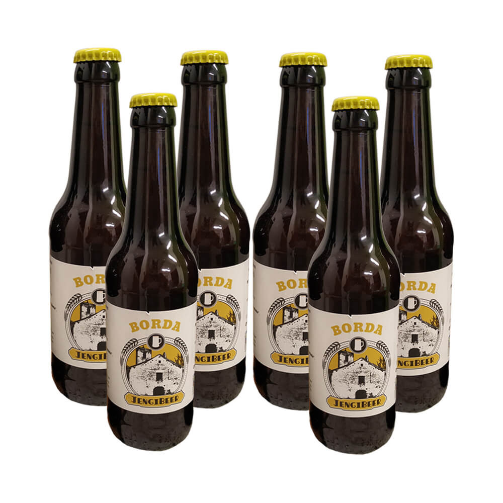 Cerveza Jengibeer eco Spiced beer - 6x33 cl
