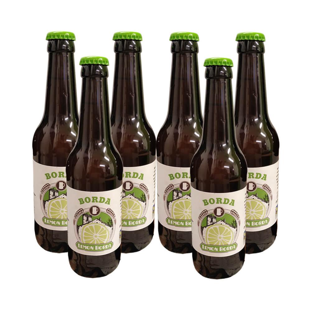 Cerveza Lemon eco - 6x33 cl