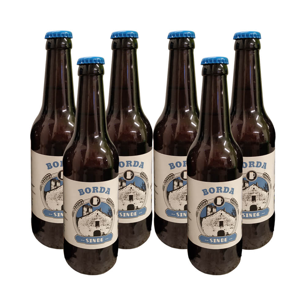Cerveza sin gluten eco Golden ale - 6x33 cl