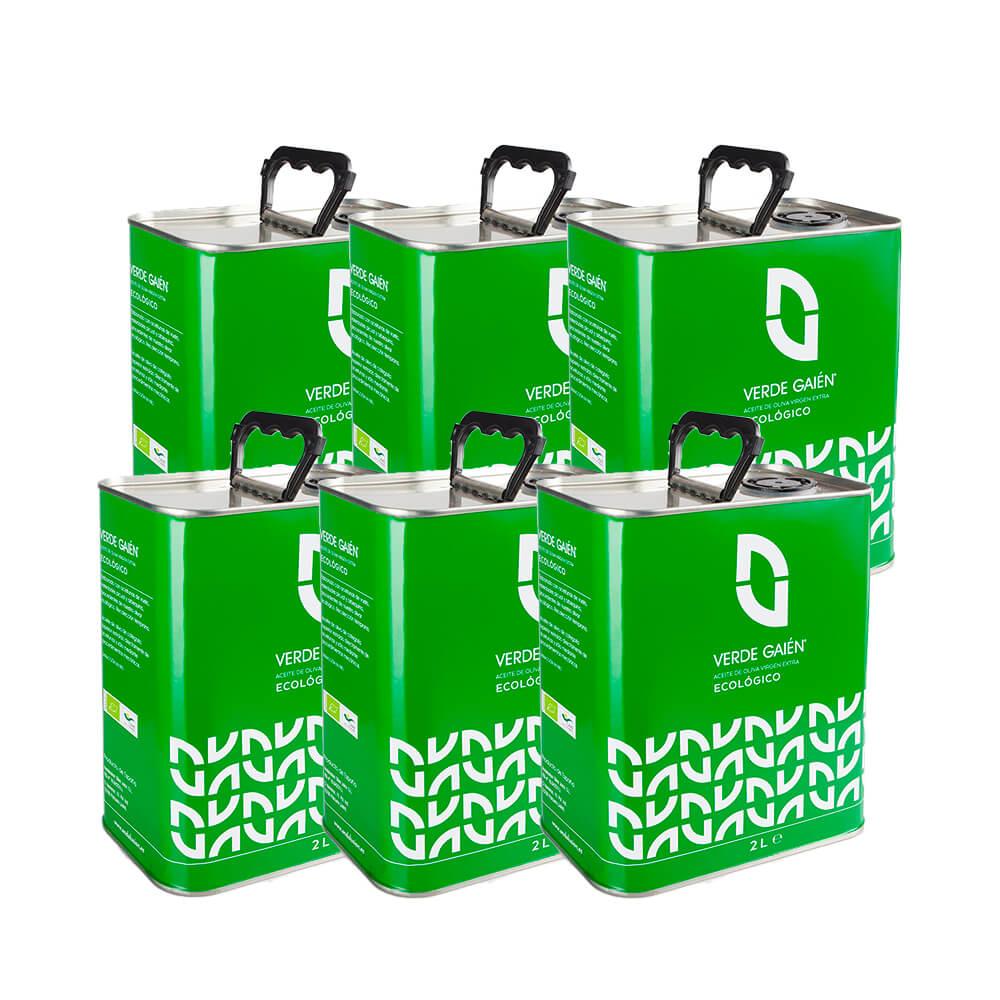 Verde Gaién lata - 6x2 L