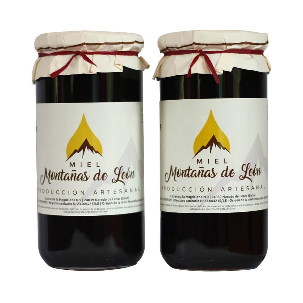 2 kg de miel de las Montañas de León