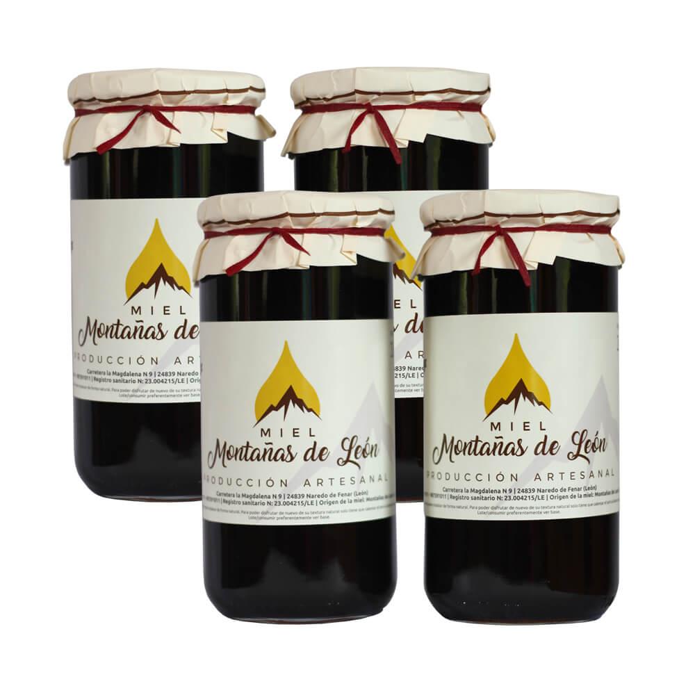 Miel Montañas de León 4 kg de miel de las Montañas de León