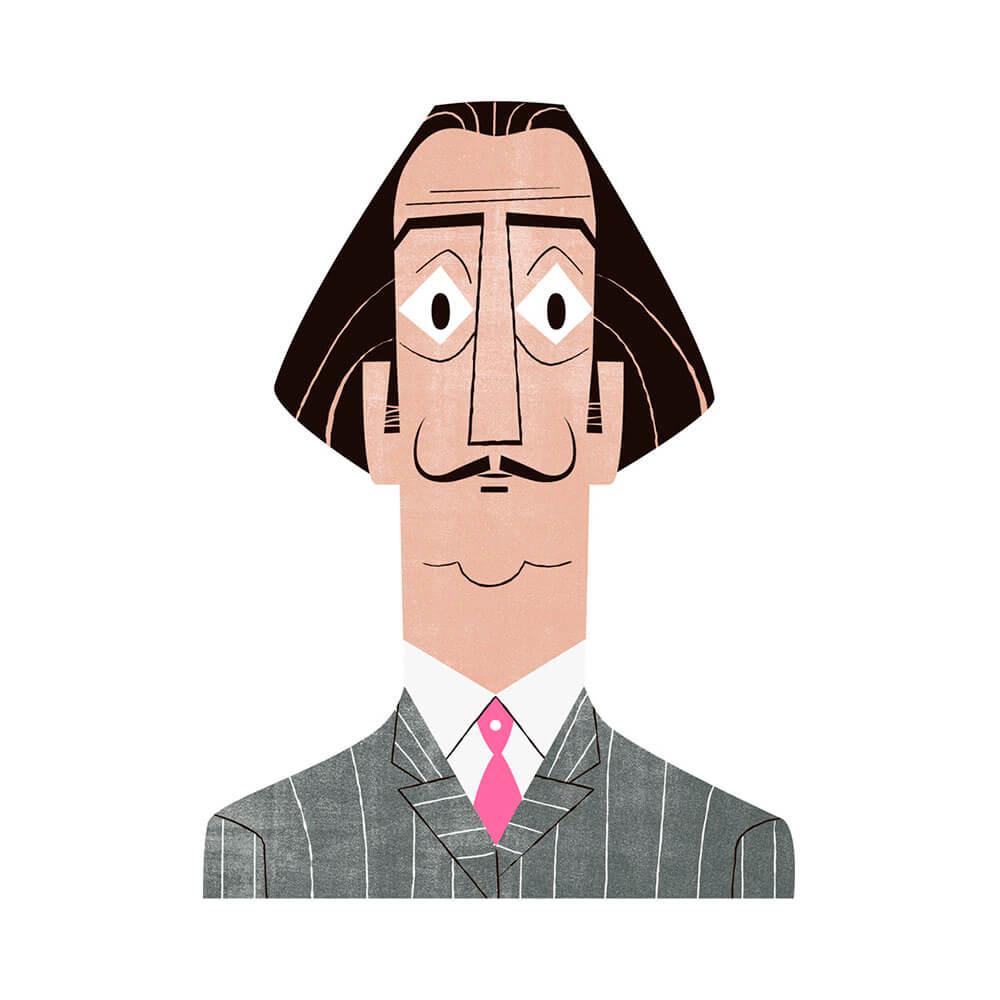 llustración de Dalí
