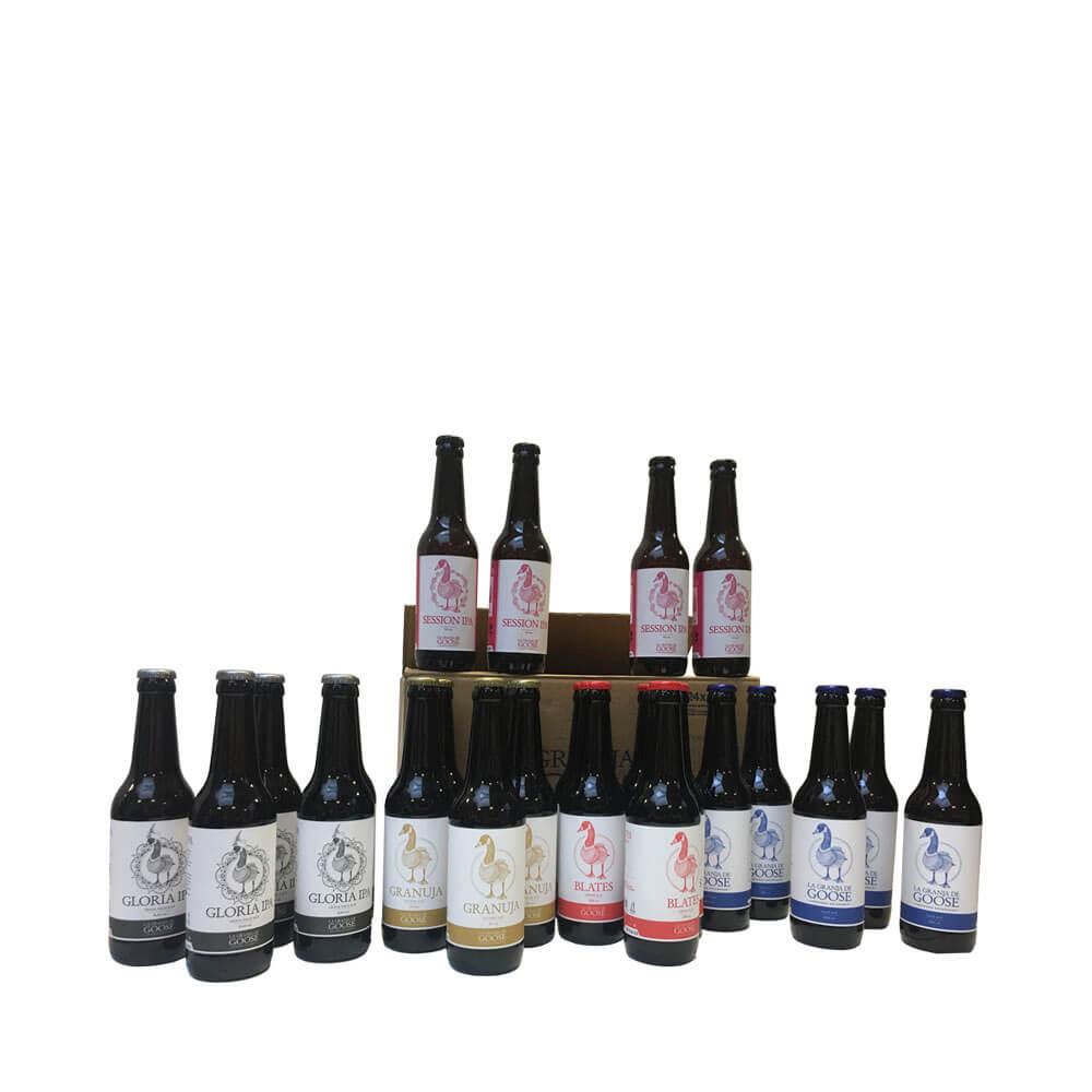 Caja de 5 variedades de cerveza artesana
