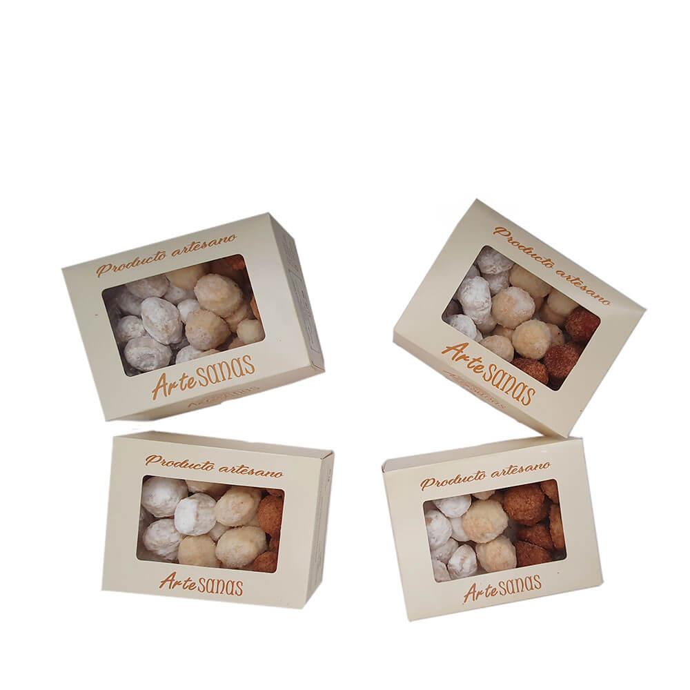 Lote de mantecados - 4 x 350 g