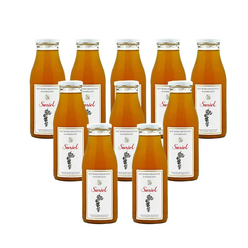 Caja de botellas Mosto de Malvasia de Sitges - 10x500 ml