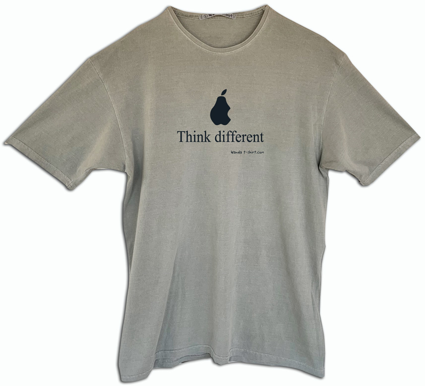 Camiseta Think different