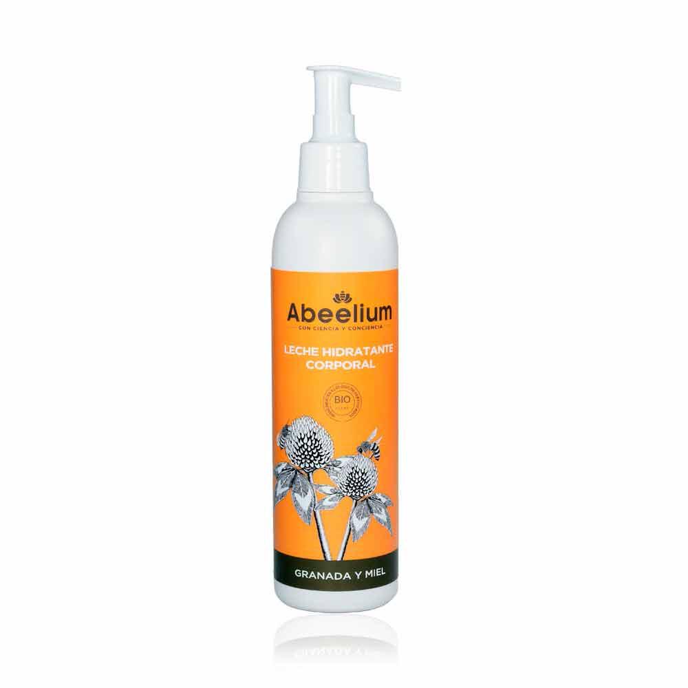 Leche hidratante corporal de granada y miel - 250 ml