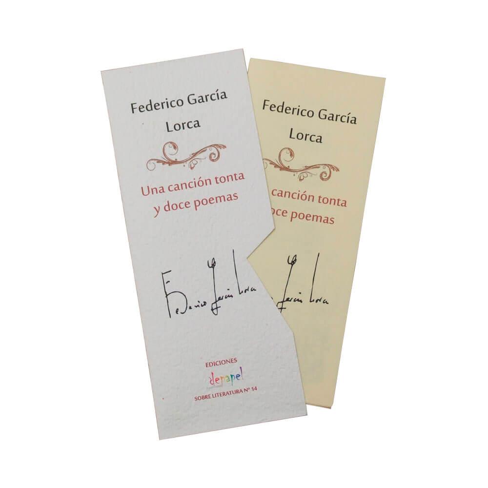 Una canción tonta y doce poemas - Federico García Lorca; En el camino - Antonio Machado