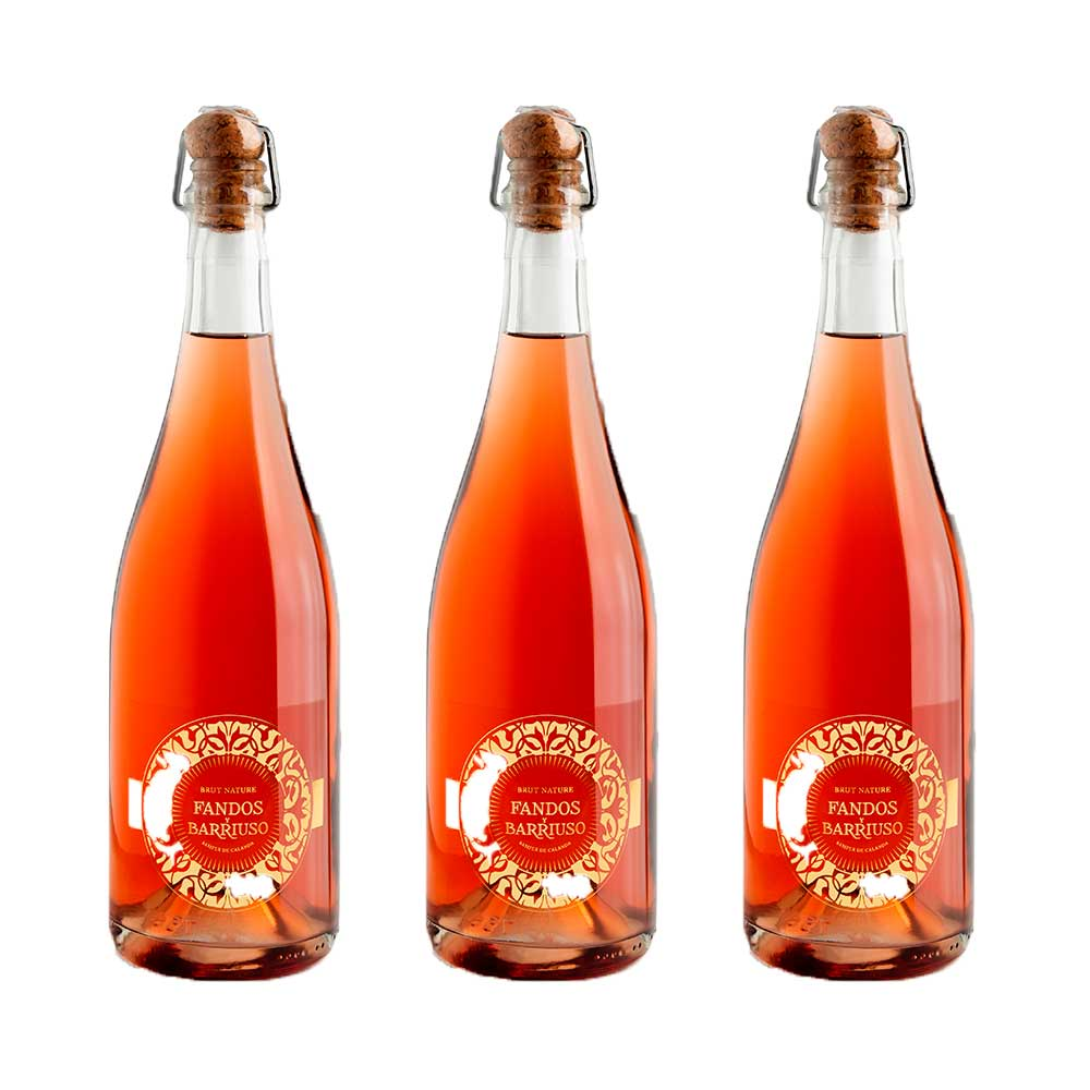 Brut nature rosado Pack 3 botellas