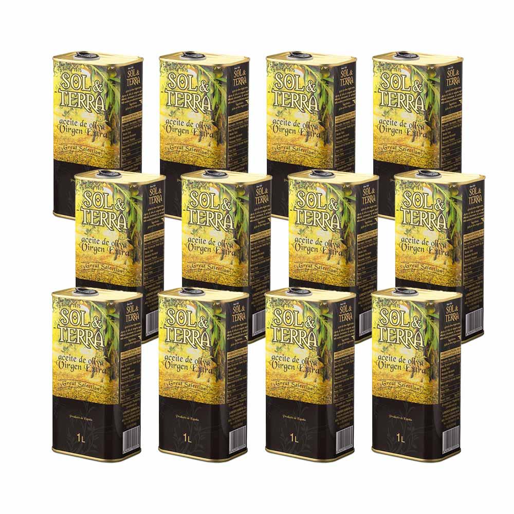 Aceite de oliva virgen extra Sol&Terra lata