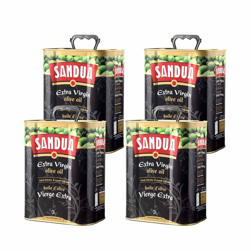 Aceite de oliva virgen extra Gran Selección lata