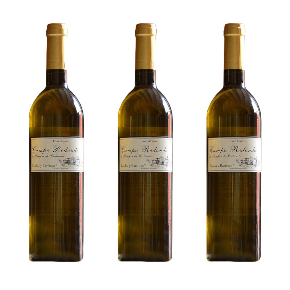 Blanco Moscatel - Pack 3 botellas