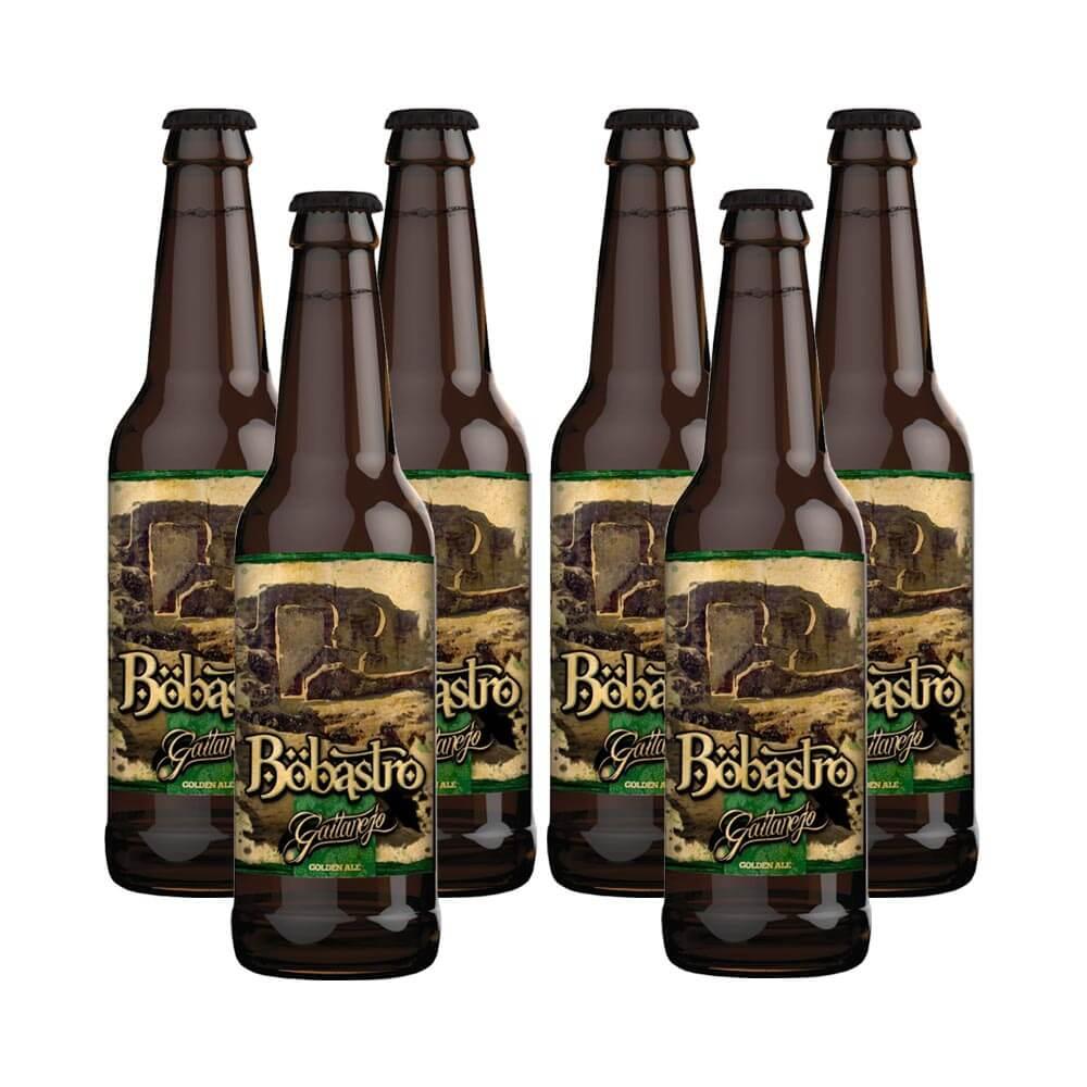 Cervezas Gaitanejo Bobastro Golden Ale - Pack 6 botellas