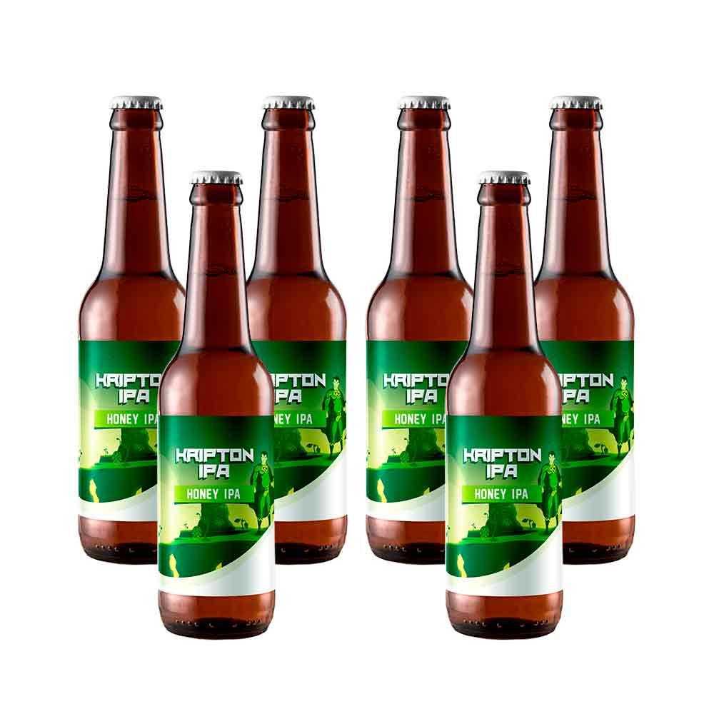 Cerveza Kriptonipa - Pack 6 unidades x 33 cl