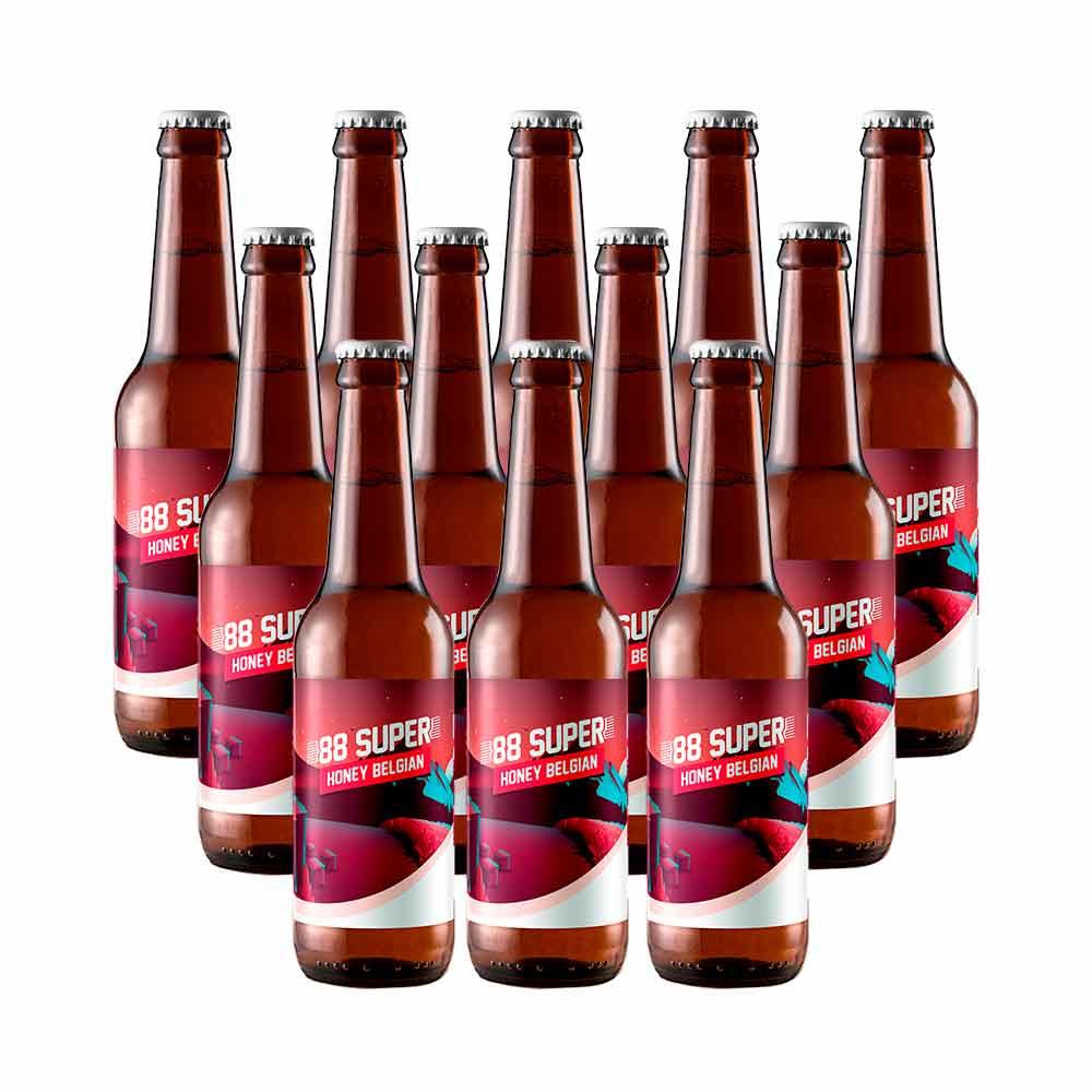 Cerveza 88 Super - Pack 12 unidades x 33 cl