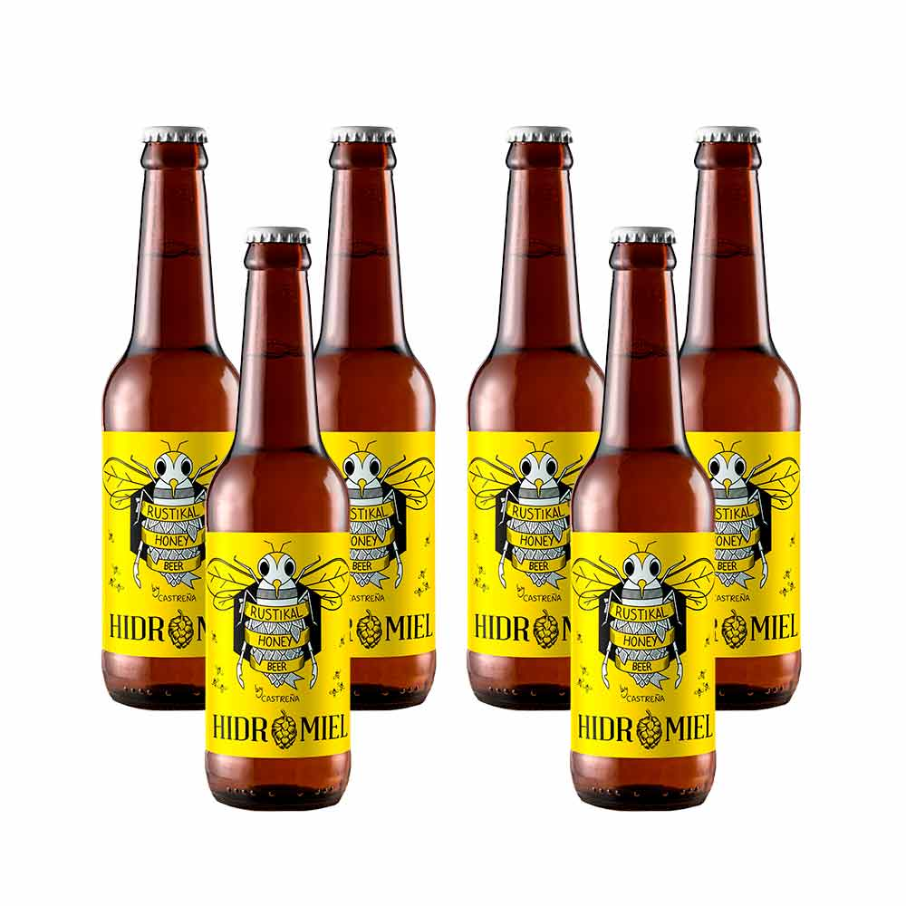 Cerveza Hidromiel - Pack 6 unidades x 33 cl