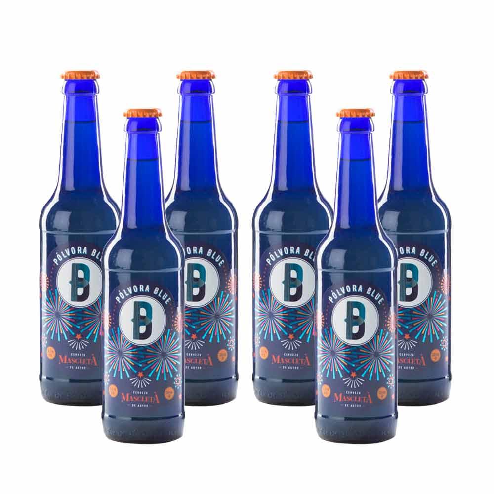 Cerveza Pólvora Blue