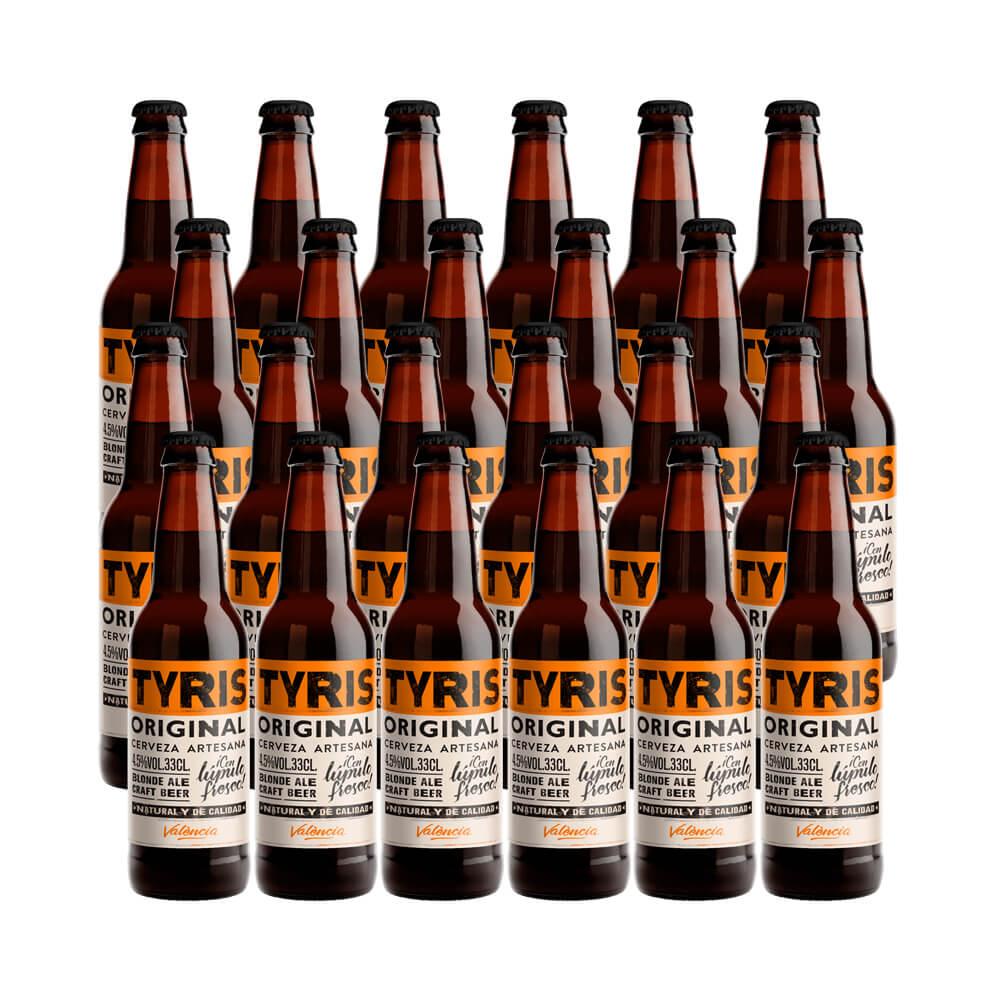 Tyris Original - Blond Ale - 24 botellas 33 cl