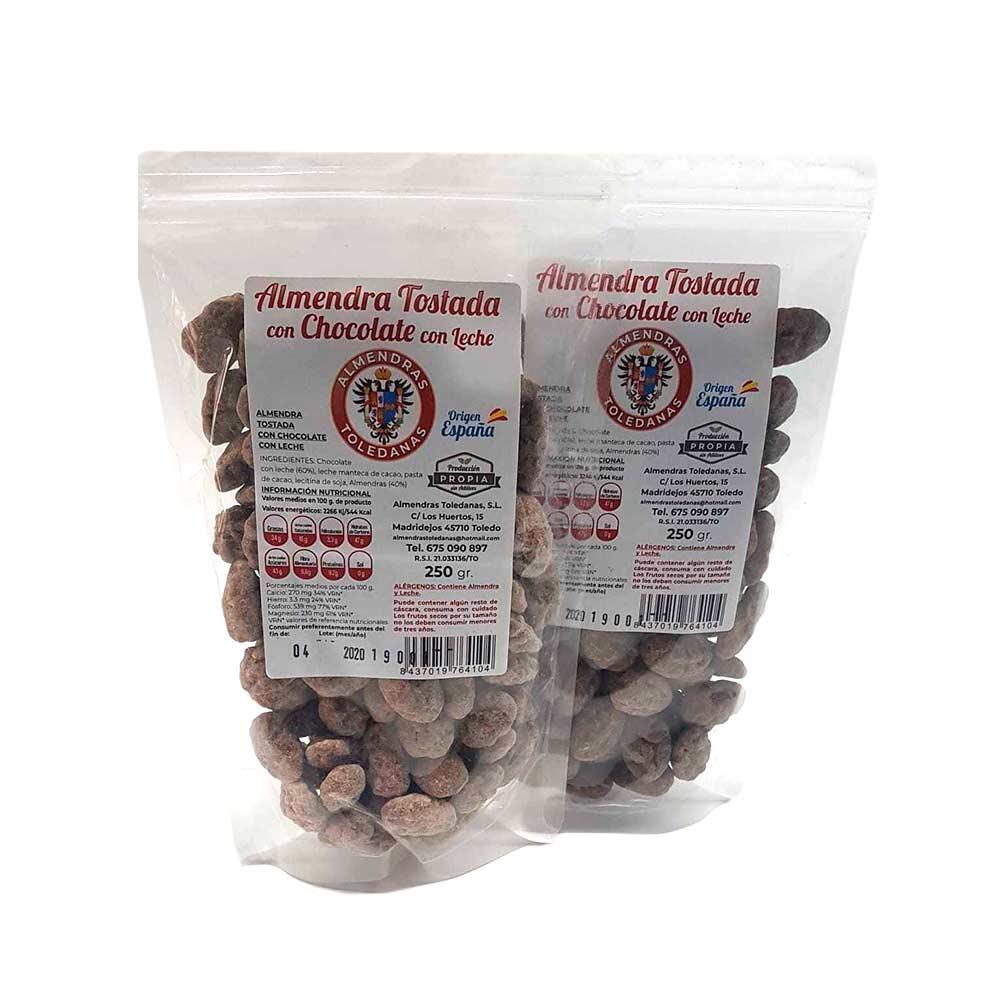 Bolsa Almendras bañadas en chocolate - 2x250 g