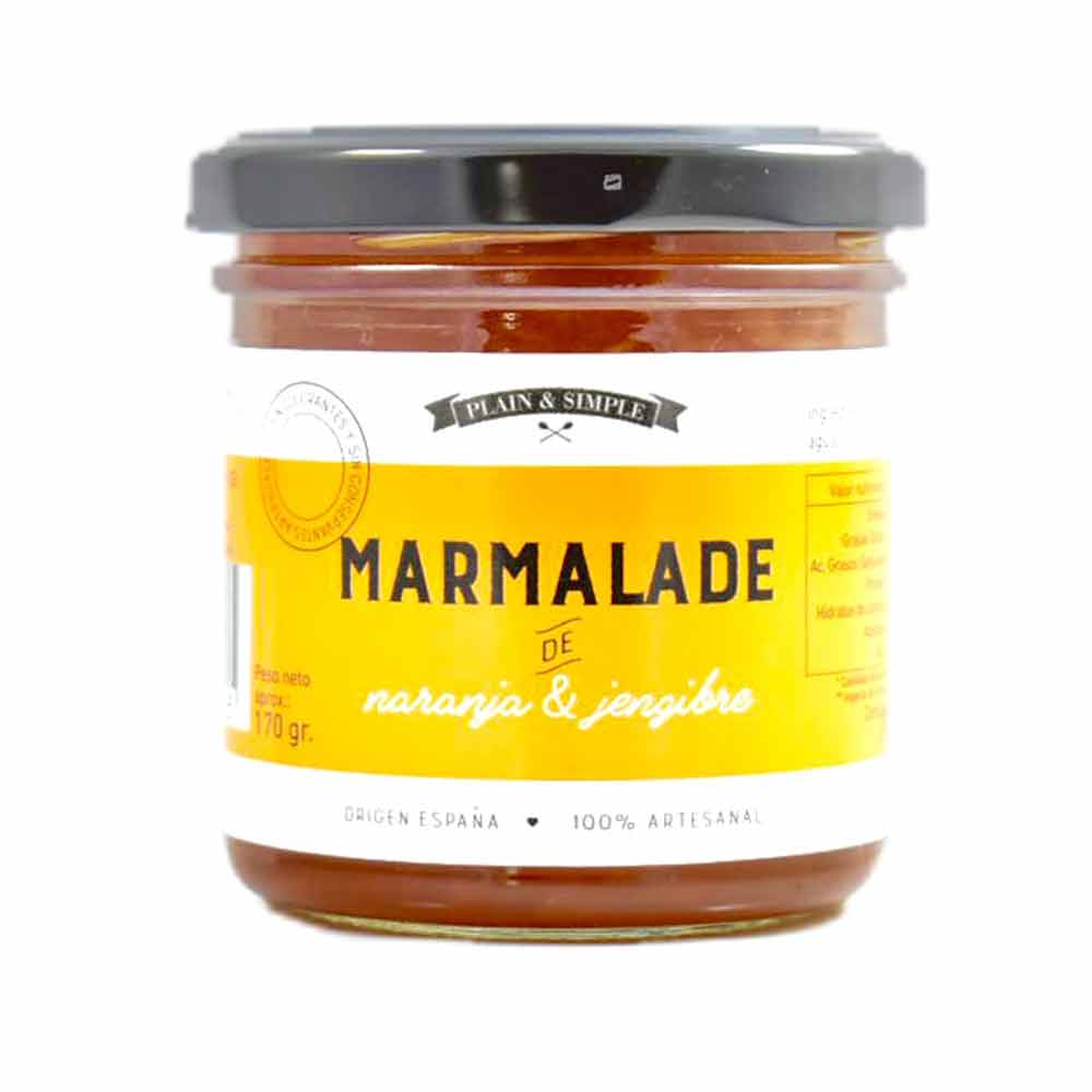Bote de Marmalade de Naranja & Jengibre
