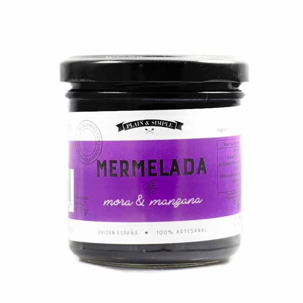Bote de Mermelada de Mora & Manzana