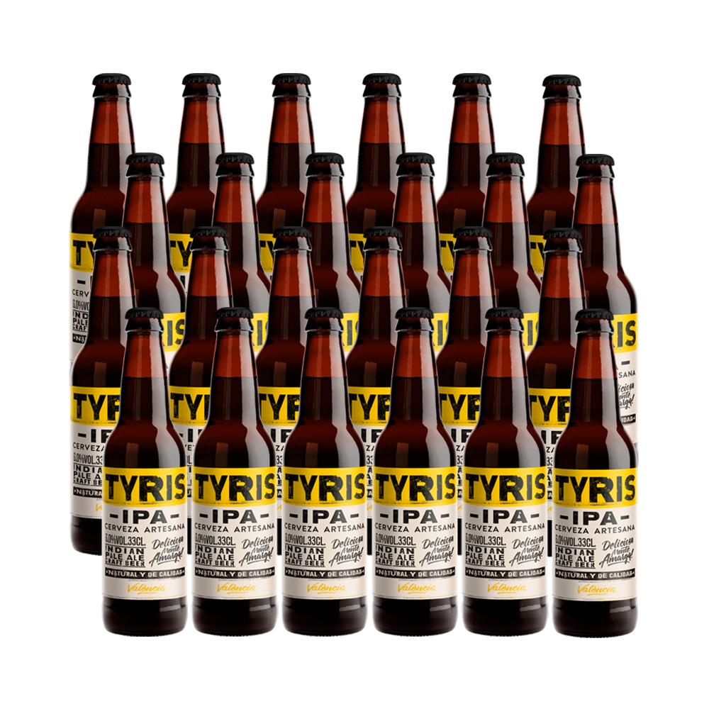Tyris IPA - 24 botellas 33 cl