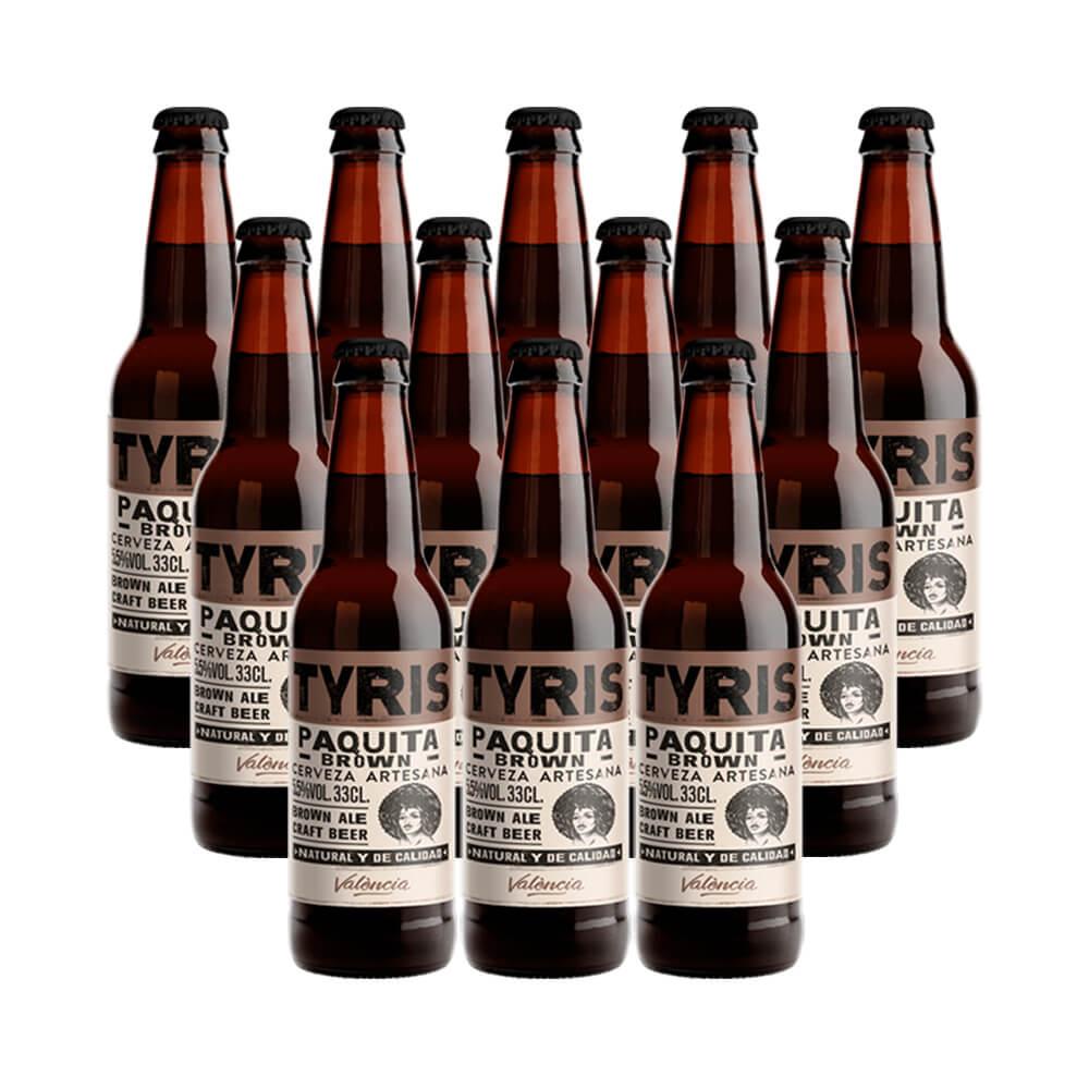 Tyris Paquita Brown Ale - 12 botellas 33 cl