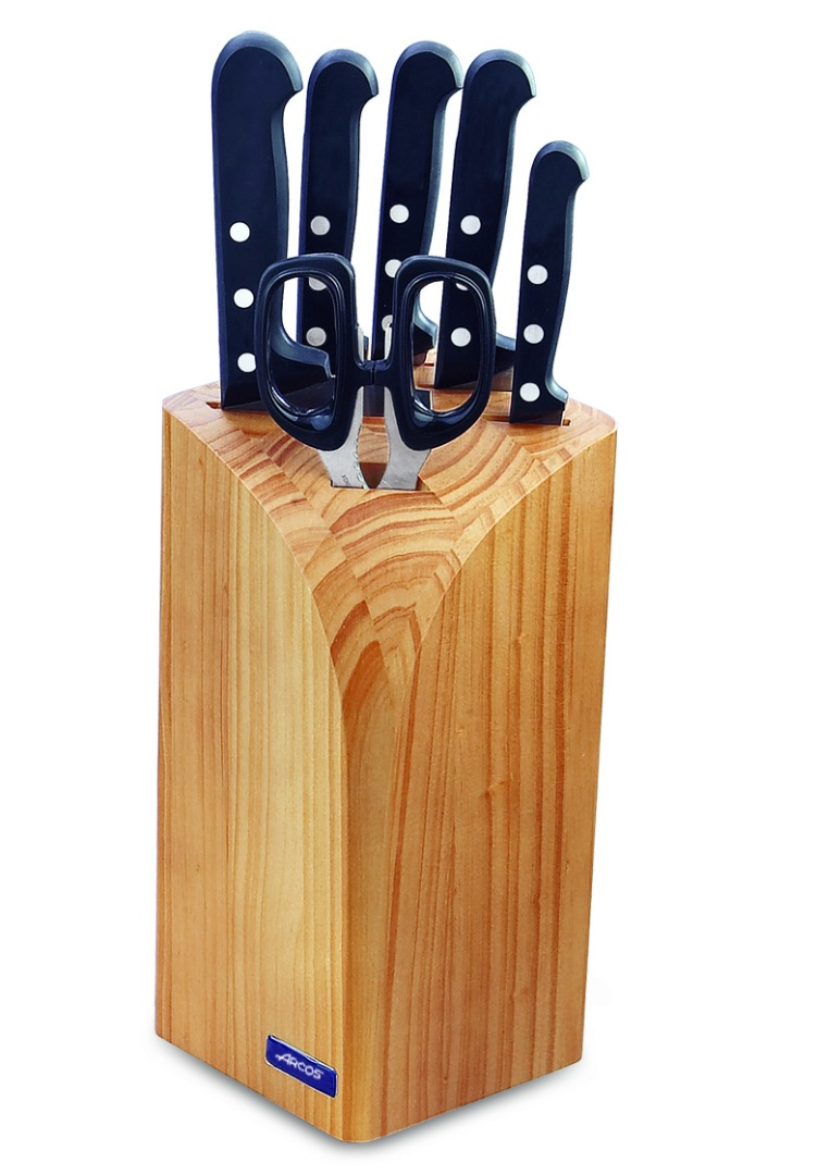 Juego de 6 piezas  Serie Universal - 5 Cuchillos + 1 Tijeras