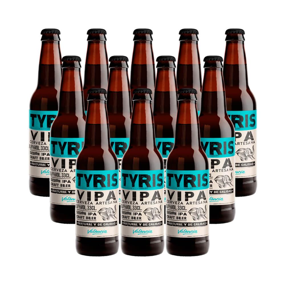 Tyris VIPA - 12 botellas 33 cl