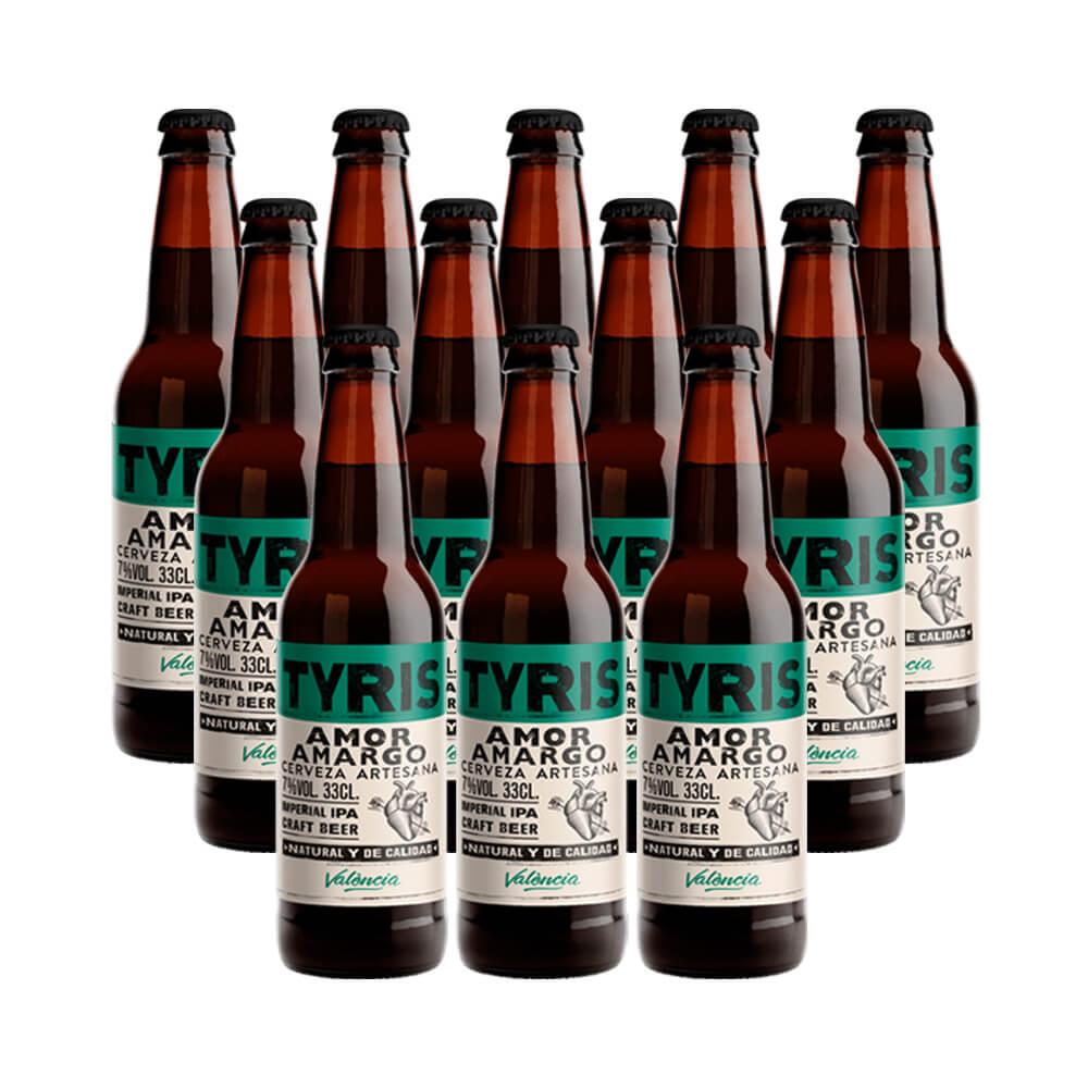 Tyris Amor Amargo American IPA- 12 botellas 33 cl