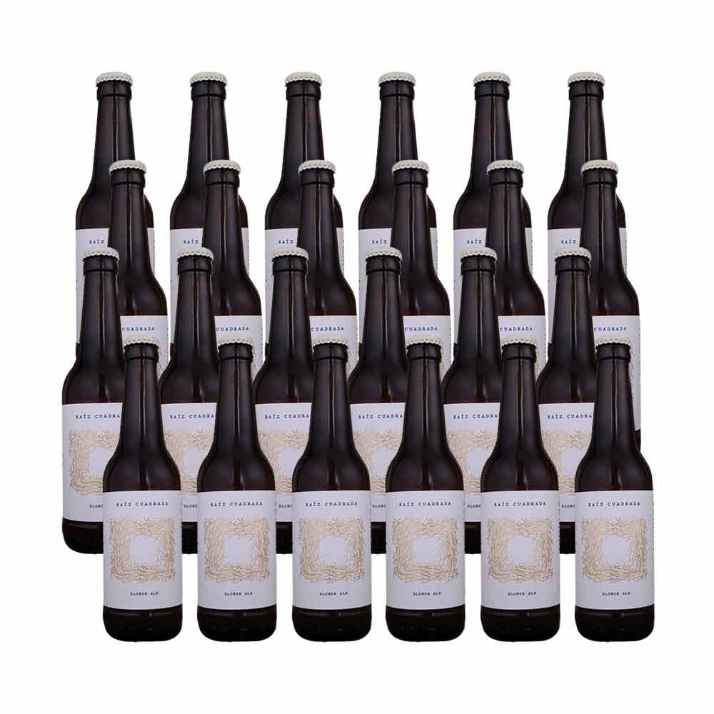 Pack de 24 botellas de 33 cl Blonde Ale