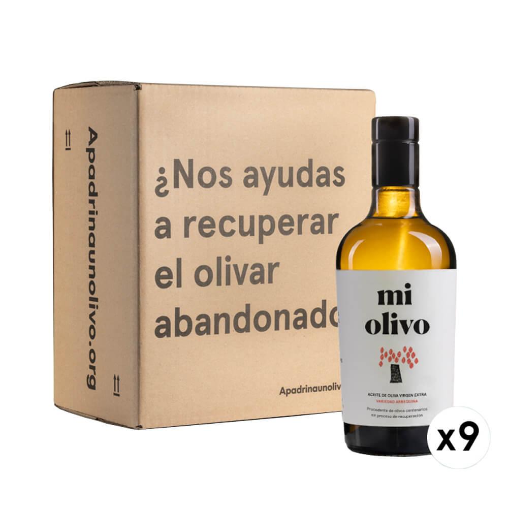 Aceite de Oliva Virgen Extra Solidario Variedad Arbequina