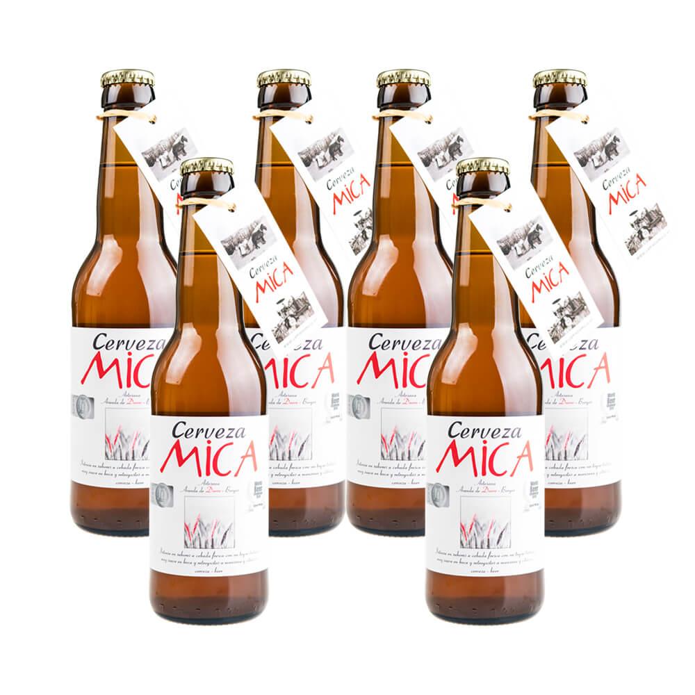 Cerveza Mica Gold Pack - 6x33 cl