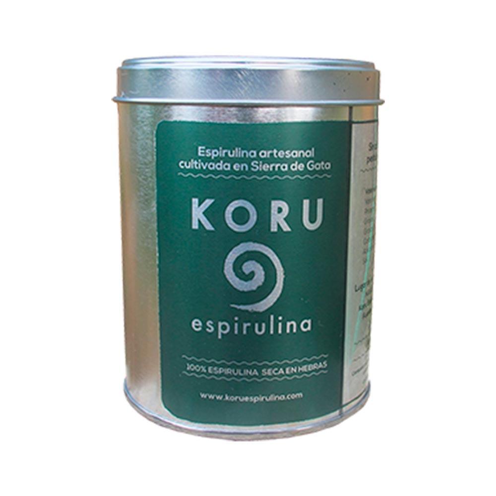 Espirulina en hebras - Bote de 100 g