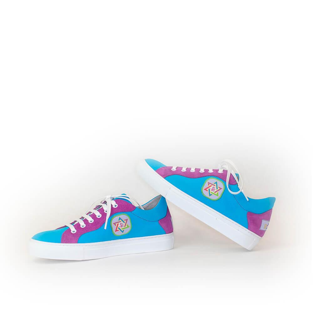 Janax Pacha - Zapatillas Azul Turquesa