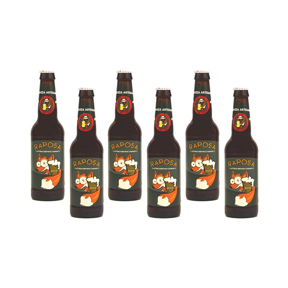 Brown Ale Raposa - 6x33 cl