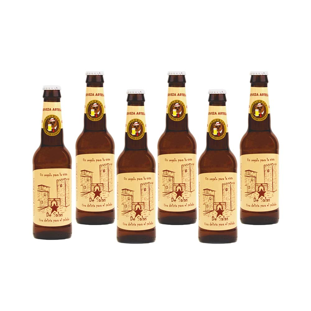 Blonde Ale Estrella de Salas - 6x33 cl