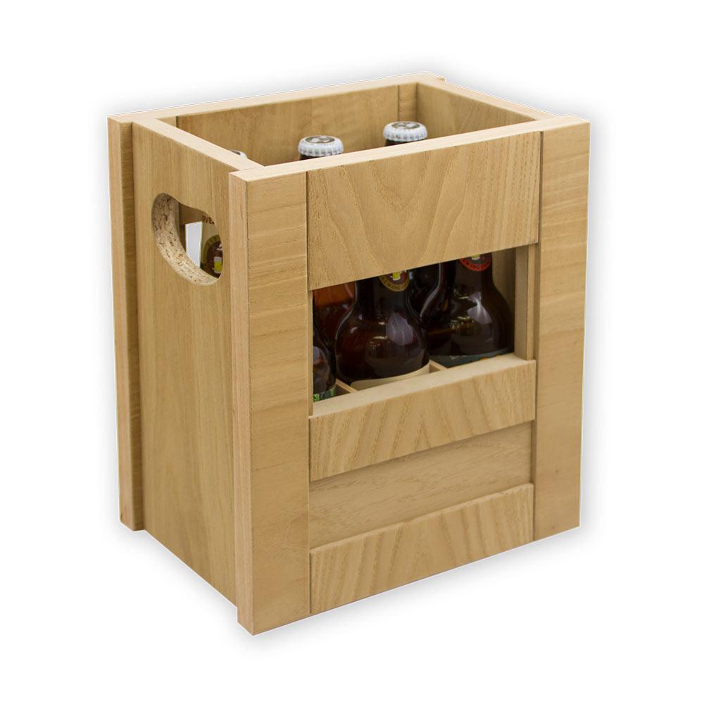 Caja Madera Brown Ale - 6x33 cl