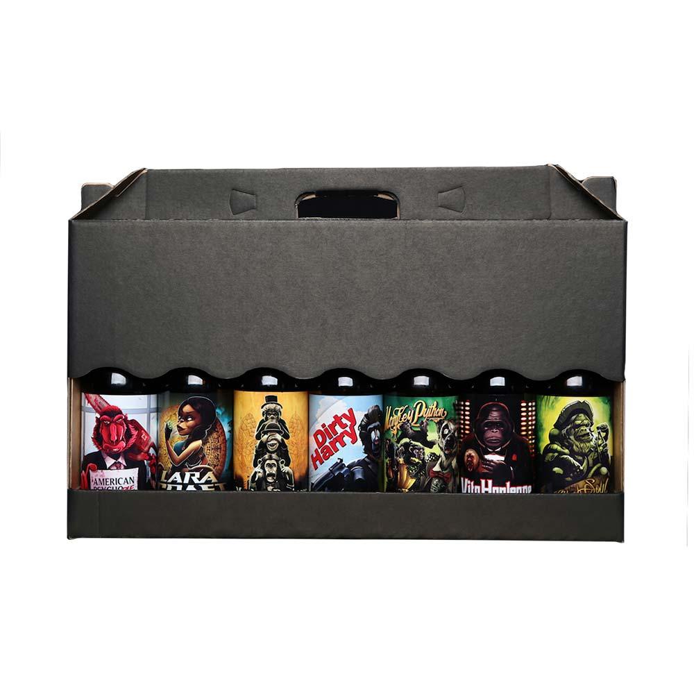 Pack maletín 7 cervezas 3Monos - 33 cl