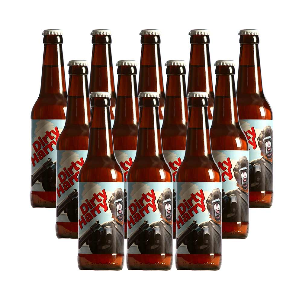 Pack 12 botellas Dirty Harry - 33 cl