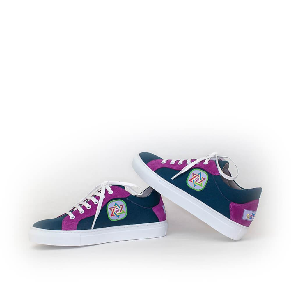 Yana Anqas - Zapatillas Azul Marino