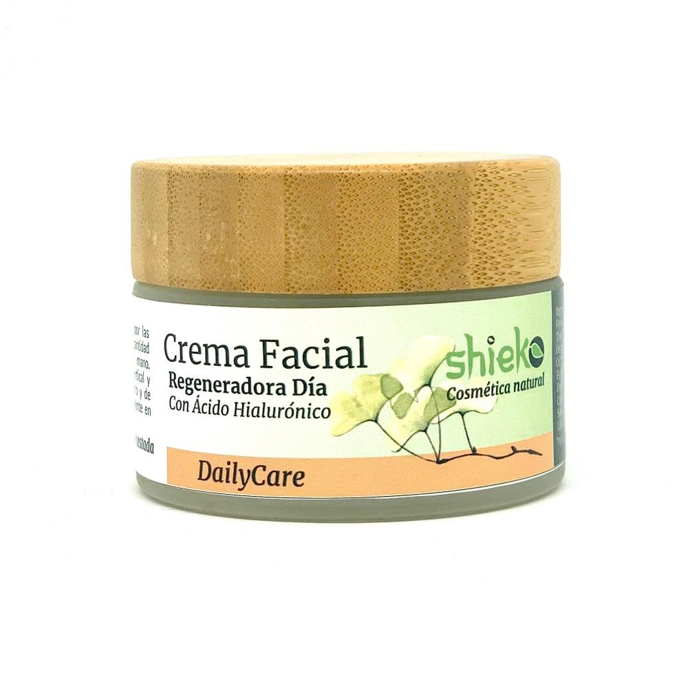 Crema facial día regeneradora Bio  - Con ácido hialurónico   50 ml