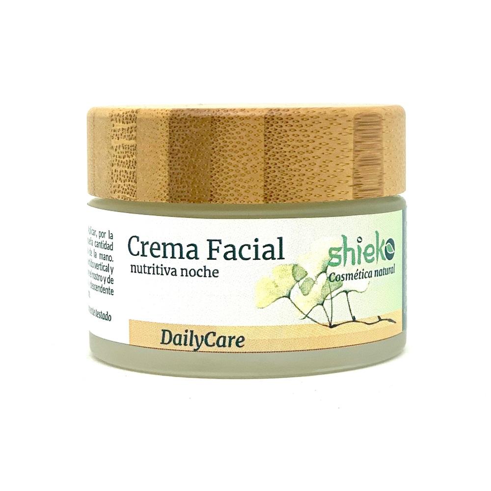 Crema facial noche nutritiva Bio - Para cara, cuello y escote -  50 ml