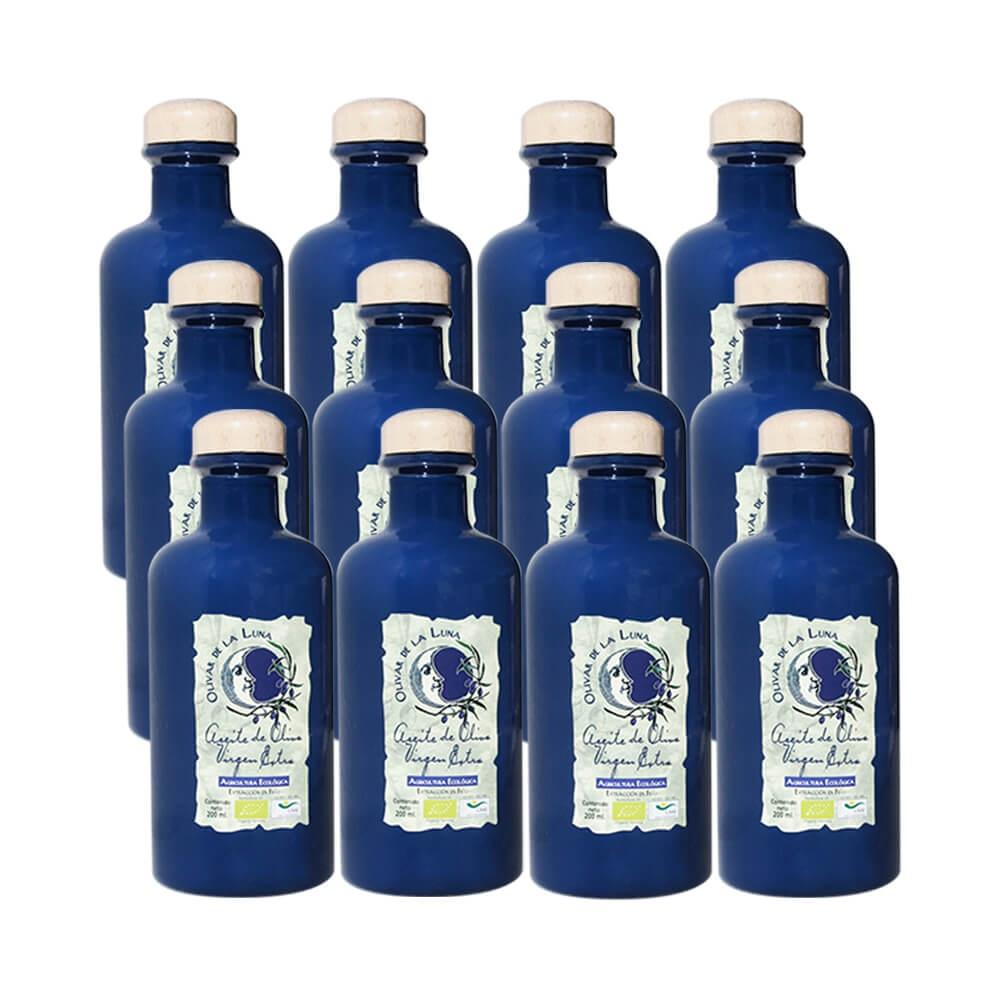 Olivar de Luna 12 Frascas 200 ML Organic Oil