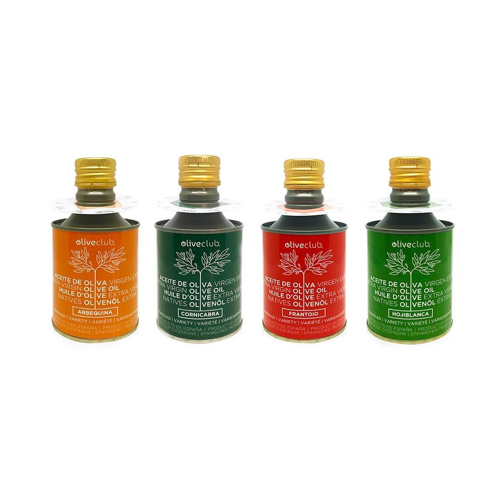 Pack AOVE 4 variedades - 250 ml