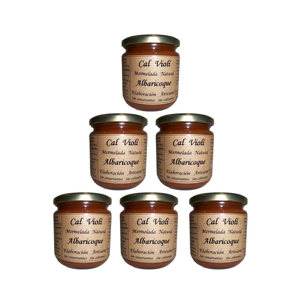 Pack mermelada de albaricoque - 6x340 ml