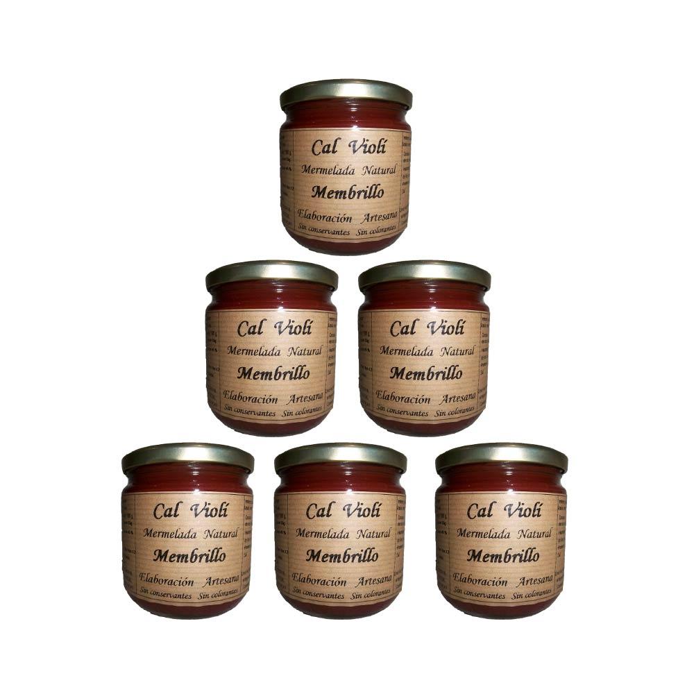 Pack mermelada de membrillo - 6x340 ml