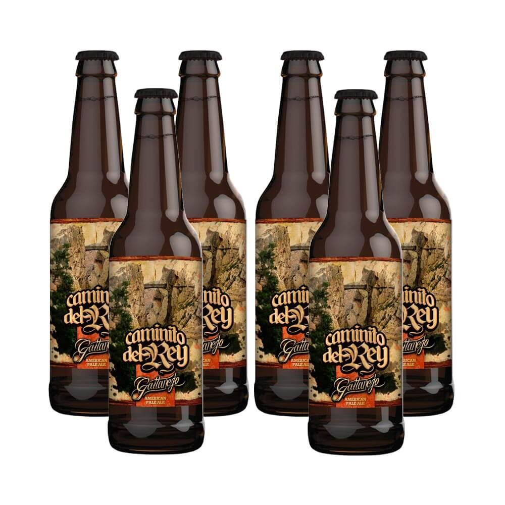 Caminito del Rey APA - Pack 6 botellas | Cervezas Gaitanejo