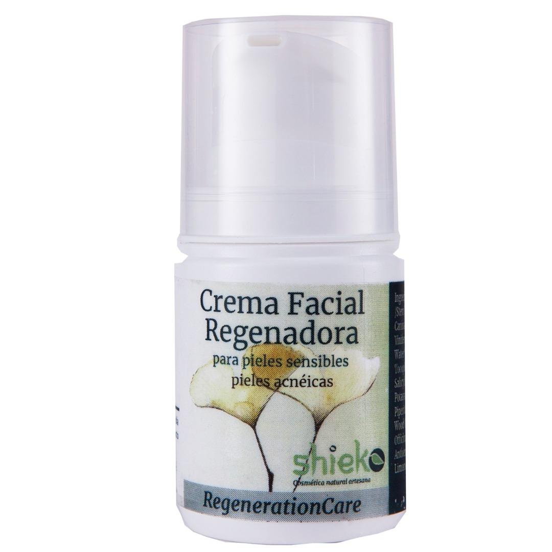 Crema facial regeneradora pieles sensibles Bio - pieles acneicas - 50 ml